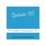 This episode is about vacation food planning